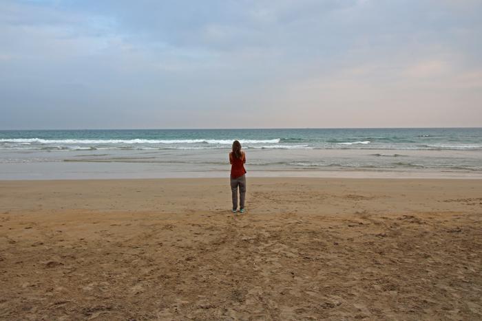 Hochsensibel auf Reisen - allein am Strand