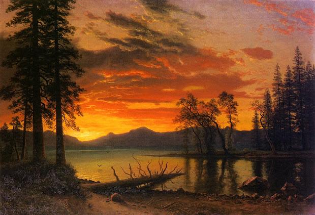 Famous Landscape Paintings Sunset