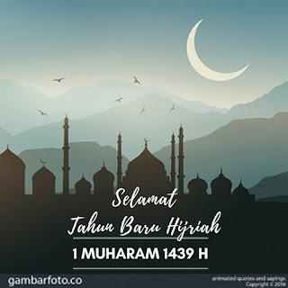 Gambar Ucapan Tahun Baru Islam 1439 H