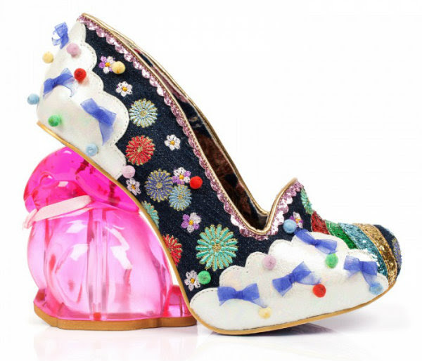 Irregular Choice rainbunny bunny navy