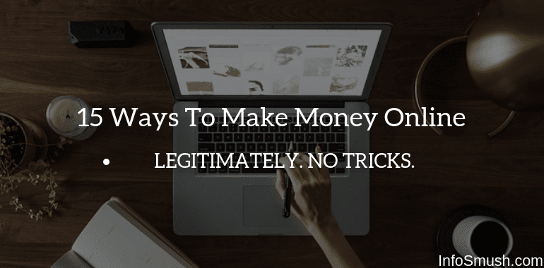 15 Ways To Make Money Online in India