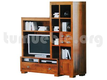 mueble de salón en teca 4114