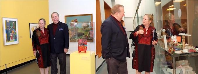 Selman destaca vínculos de dominicanos con historia afroamericana en visita al museo de Sugar Hill