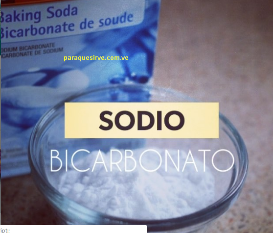 Para qué sirve el baking soda