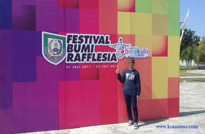 Festival Bumi Rafflesia, Festival Bumi Rafflesia 2017, Festival Bumi Rafflesia Bengkulu