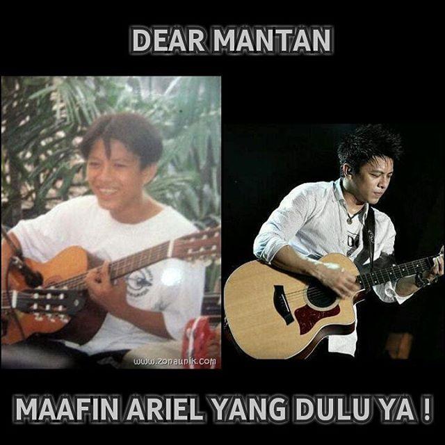 Meme Dear Mantan ariel