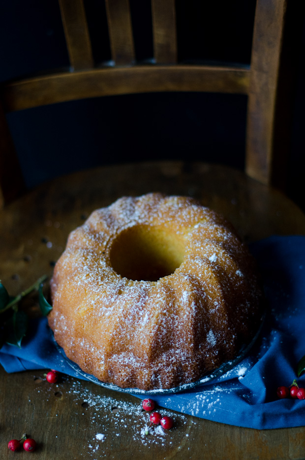 Bundt Cake orange rhum amande
