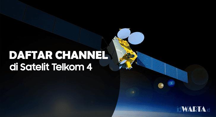 Daftar Channel Terbaru Dari Satelit Telkom 4 Merah Putih