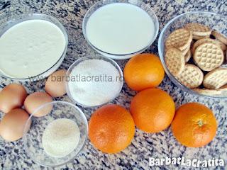 Tort de portocale ingrediente reteta