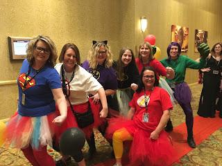 Red Carpet Super Hero Teachers