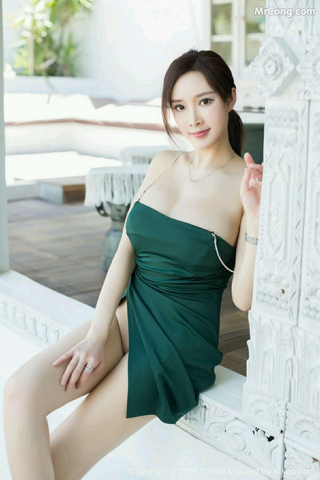 Image YouMi-Vol.188-Tu-Fei-Yuan-Ai-Cuo-Qiong-MrCong.com-011 in post YouMi Vol.188: Người mẫu 奶瓶土肥圆 (52 ảnh)