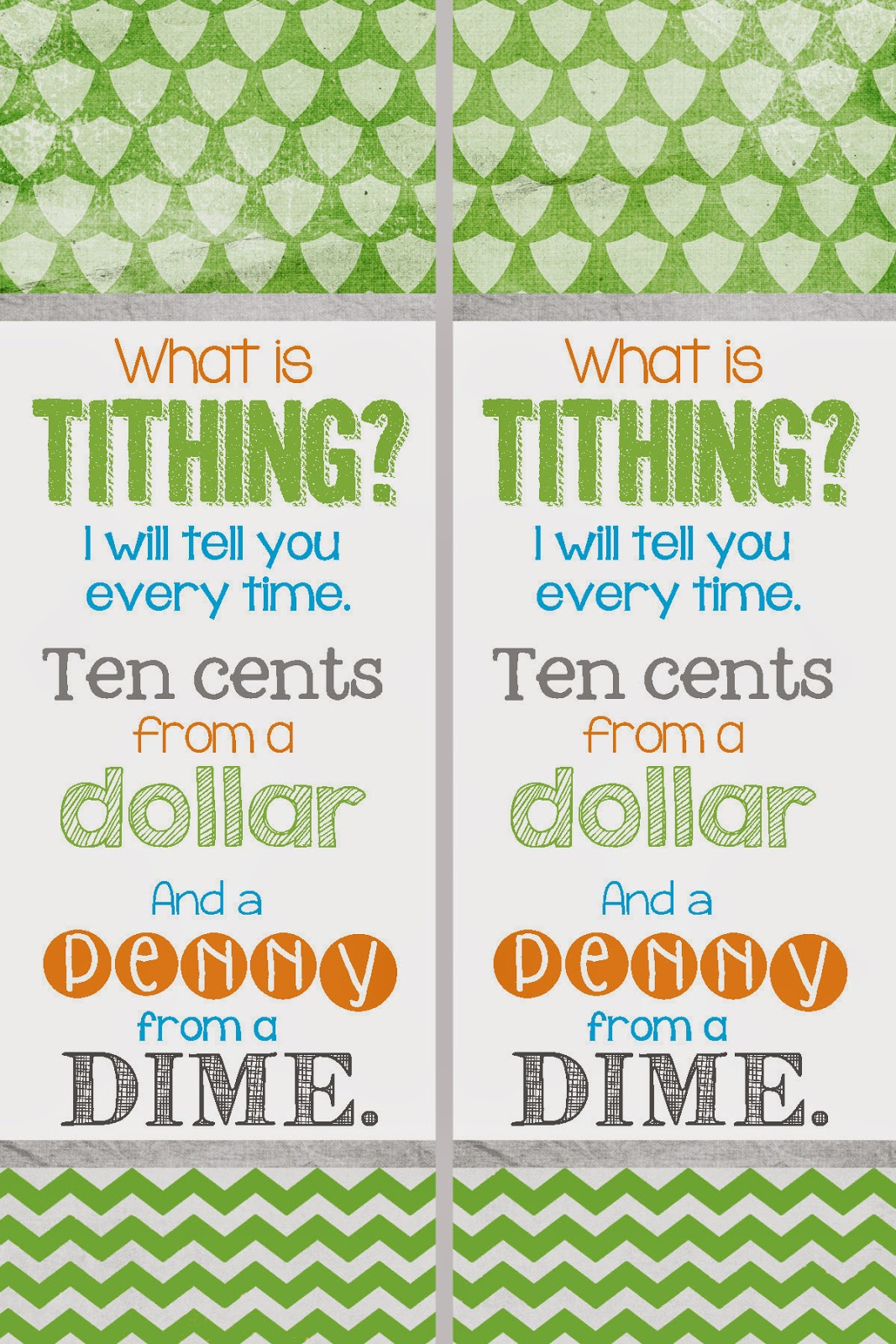 A Pocket Full Of Lds Prints Free Tithing Bookmark Printable