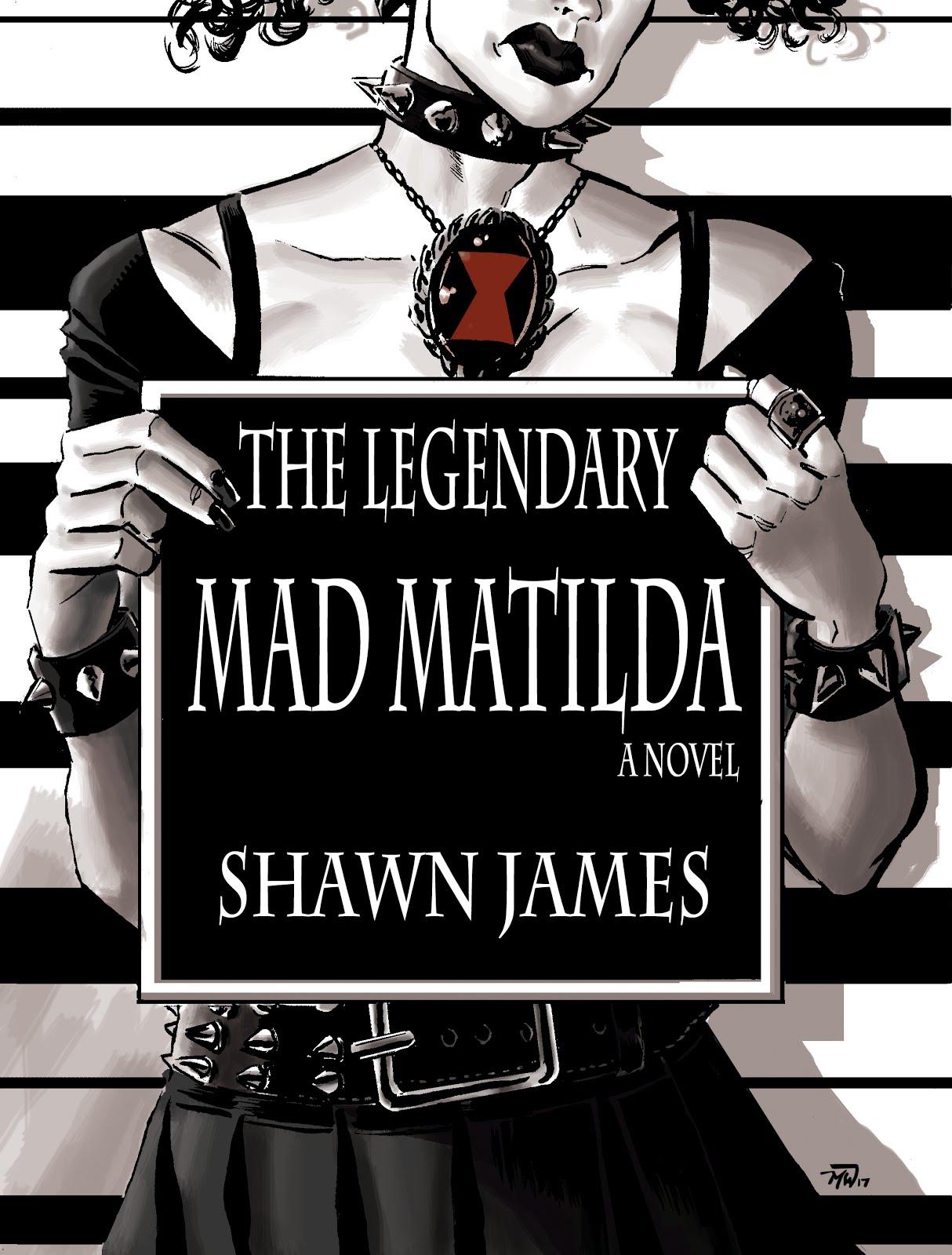 Shawn James, Black Freelance Writer: The Legendary Mad