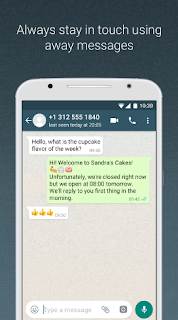 Download WhatsApp Business Update Support Quick Replies Terbaru 2018