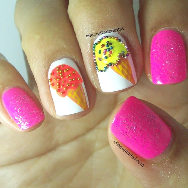 Nailart-IcecreamNails