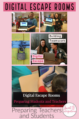 Preparing for digital escape rooms can be easy for students AND teachers. This blog post walks you through some common issues to consider, plus you get a FREE download for your 3rd and 4th grade students. Click through to learn how to prepare for digital escape rooms, how to know if a Google site is blocked, and more. And make sure you grab that FREEBIE for your third and fourth graders or check out the other upper elementary download options.