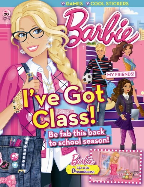 Working Mom Magazine And Barbie Magazines Present Their
