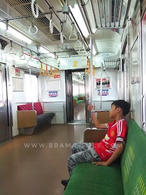 sepinya commuter line saat libur lebaran