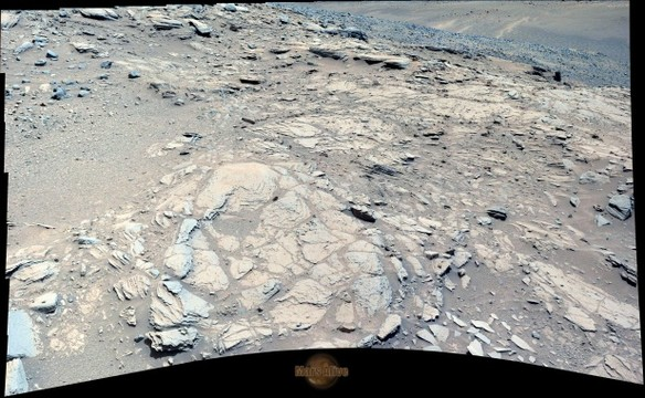 Sol 1044 Curiosity Left Mastcam (M-34) Pahrump Hills