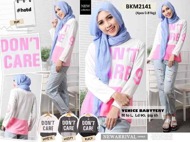 Blus Kaos Cantik BKM2141