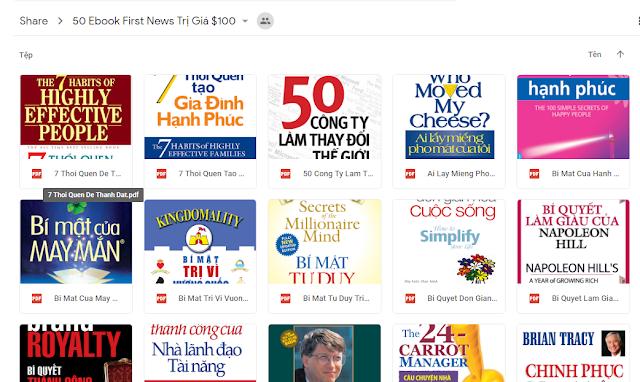 Chia sẻ 50 Ebook Hay Nhất Đáng Đọc Trị Giá 100$
