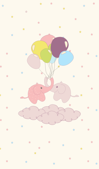Elephants and Ballons
