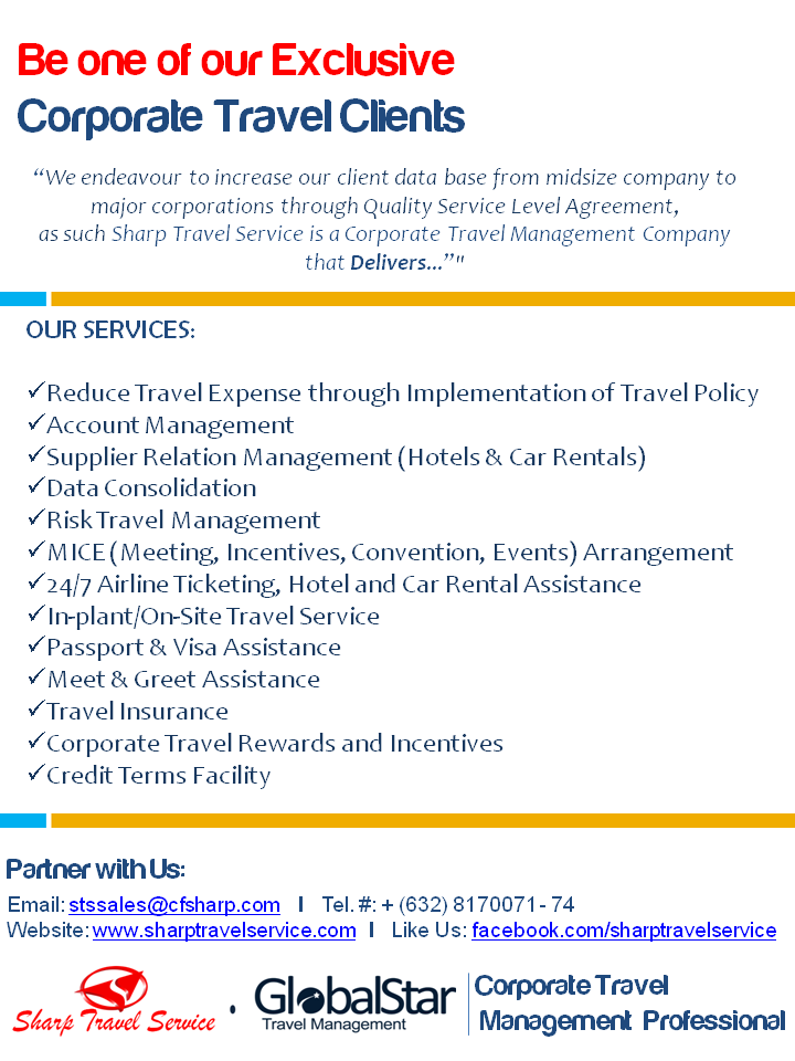 Travel Management Service Level Agreement Travelyok