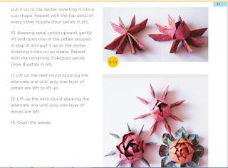 flowers paper flowers diy