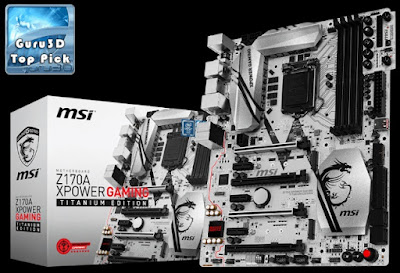 Motherboard MSI Z170A XPOWER GAMING TITANIUM EDITION