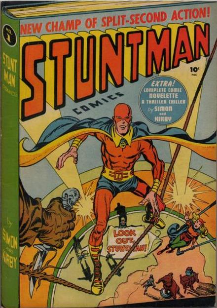 Jack Kirby Stuntman
