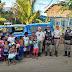 Policiais da 98ª CIPM distribuem presentes em Ipirá e Baixa Grande