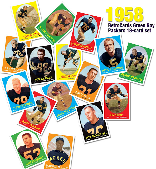 "Topps 1958 Green Bay Packers ""pre-lombardi"""