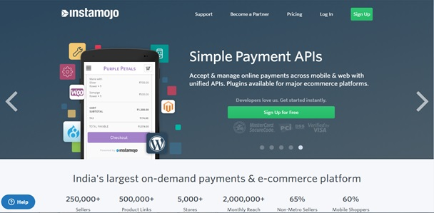 Online Payment Gateways - InstaMojo