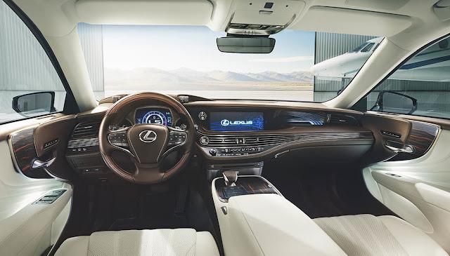 2017 Lexus LS Interior