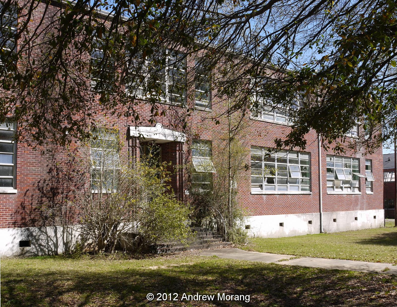 Urban Decay Abandoned Utica High School Utica Mississippi