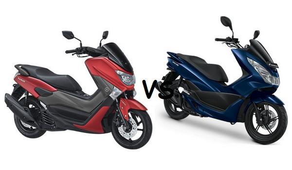 Komparasi Motor Yamaha Nmax Vs Honda PCX, Mana Yang Lebih Unggul.