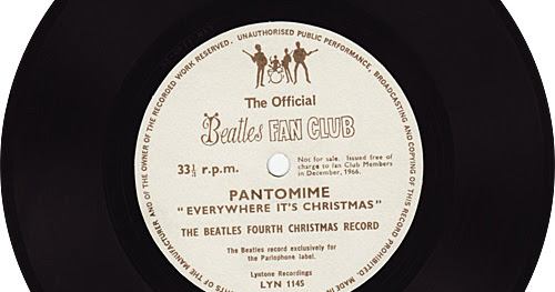 THE BEATLES' FOURTH CHRISTMAS RECORD - PANTOMIME 'EVERYWHERE IT'S CHRISTMAS' (1966) - LYN 1145 [Video Subtitulado]