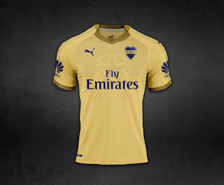 Camiseta Boca Juniors 2018 - Boca Juniors Kit 2018 - THIRD