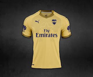 Camiseta Boca Juniors 2018 - Boca Juniors Kit 2018 - THIRD