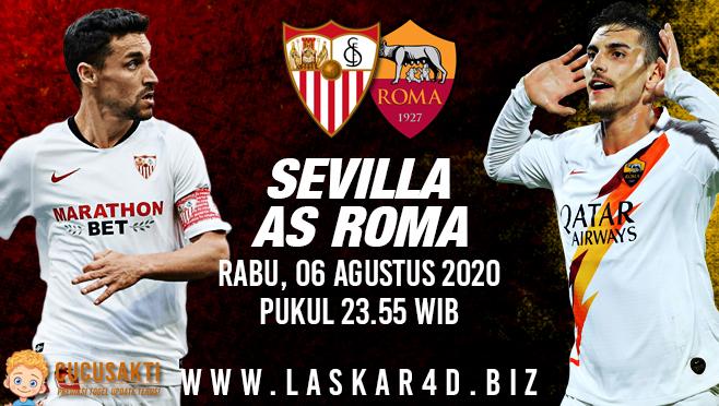 Prediksi Bola Sevilla vs AS Roma Kamis 06 Agustus 2020