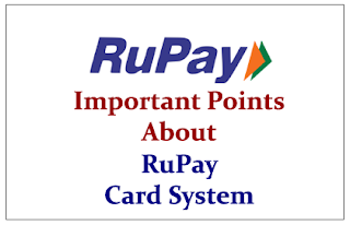 Important Points to know about RuPay Card System