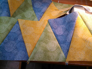 ProsperityStuff Triangles for a quilt back