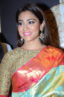 Shriya Saran Looks Stunning in Silk Saree at VRK Silk Showroom Launch Secundrabad ~  Exclusive 063.JPG