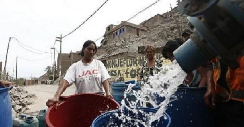 Lima podría ser una ciudad sin agua potable, según SEDAPAL