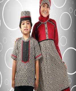 baju batik anak perempuan modern