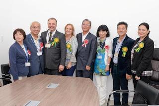 Registro-SP recebe Comitiva Oficial dos irmãos de Nakatsugawa
