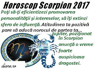 Horoscop 2017 Scorpion