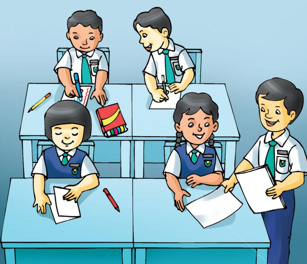 Gambar Kartun Siswa Yang Sedang Belajar Top Lucu