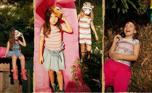 766dc4b114 Fashion Girl Style  Coleção Infantil Primavera Verão