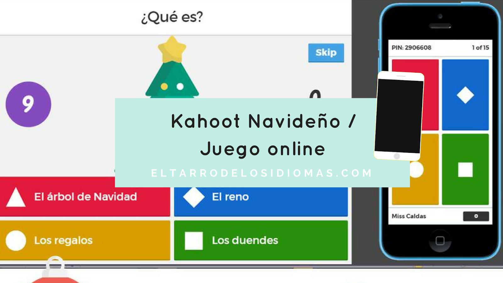 Kahoot Navideno Juego Online El Tarro De Los Idiomas Recursos